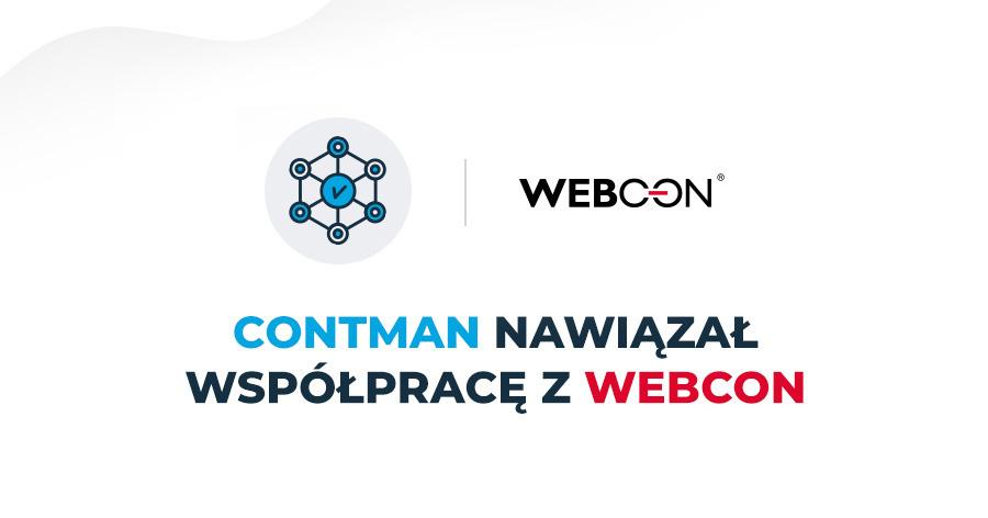CONTMAN nawiązał współpracę z WEBCON